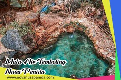 Mata Air Tembeling di Nusa Penida