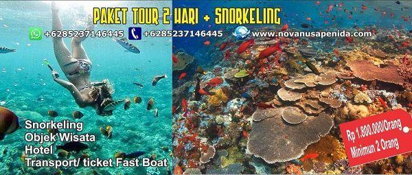 paket tour 2 hari snorkeling