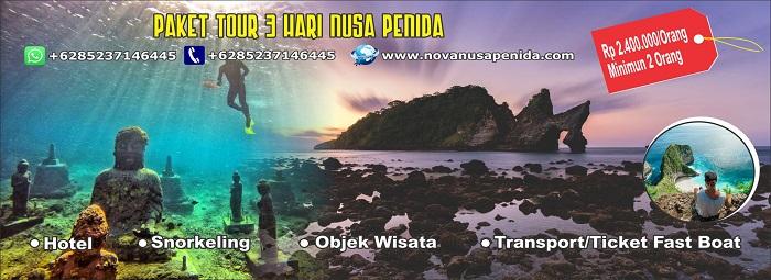 Paket Tour 3 Hari Nusa Penida