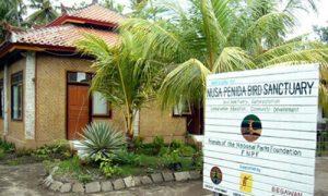 Bali Bird Sanctuary Nusa Penida
