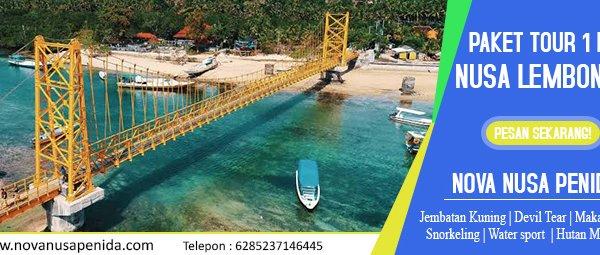 Paket Tour 1 Hari di Nusa Lembongan