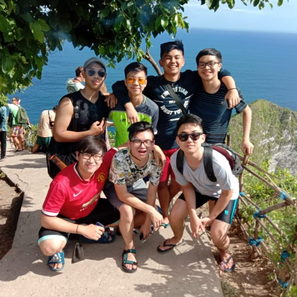 trek di angel billabong nusa penida