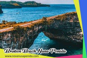 Broken Beach di Nusa Penida