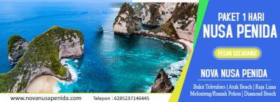 Paket Tour 1 Hari Nusa Penida