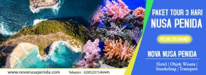 aket 3 hari Tour Nusa Penida