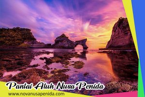 Pantai Atuh di Nusa Penida