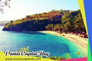 Pantai Crystal Bay di Nusa Penida