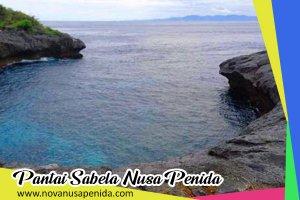 Pantai Sabela di Nusa Penida