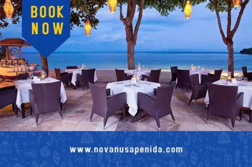 Restoran di Nusa Penida sarana penunjang kegiatan tour di Nusa Penida
