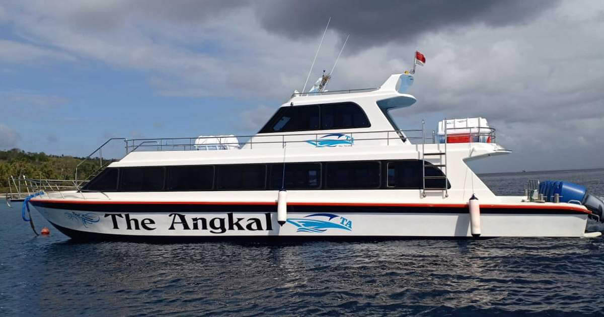The Angkal Fast Boat
