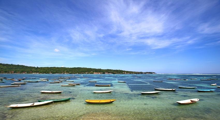 Pantai Lebaoh  Objek Wisata Nusa Lembongan